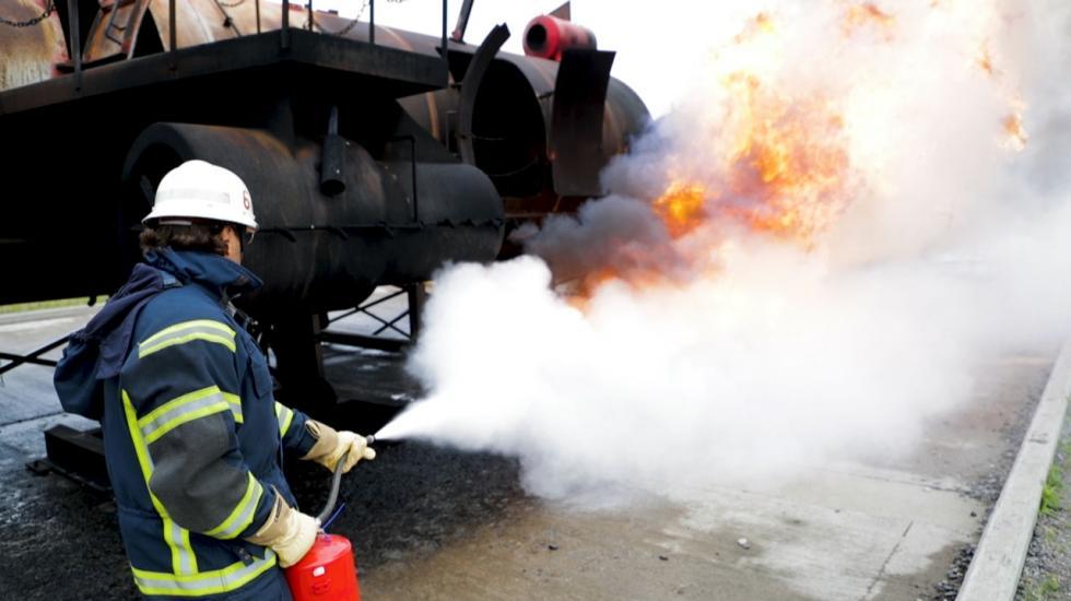 Leka brandman