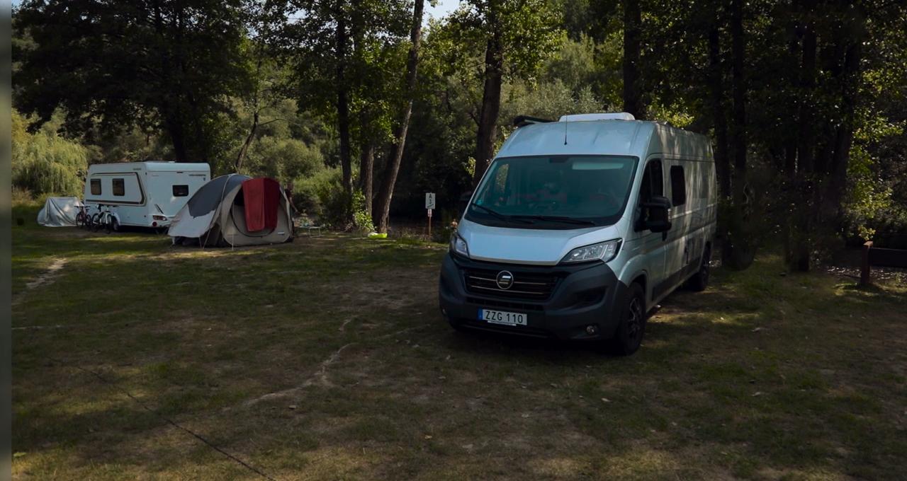 campingboende i Tjeckien