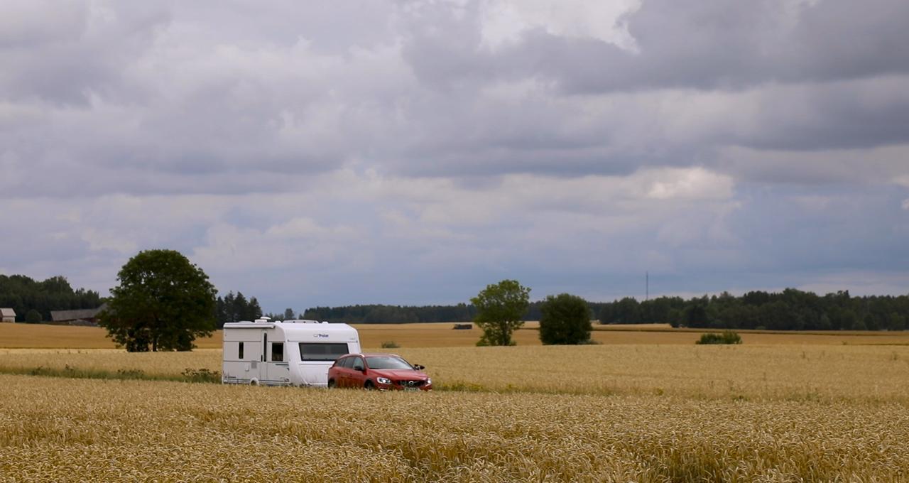 Vårt boende i Sörmland, Södertörn, husvagn, husbil, Volvo