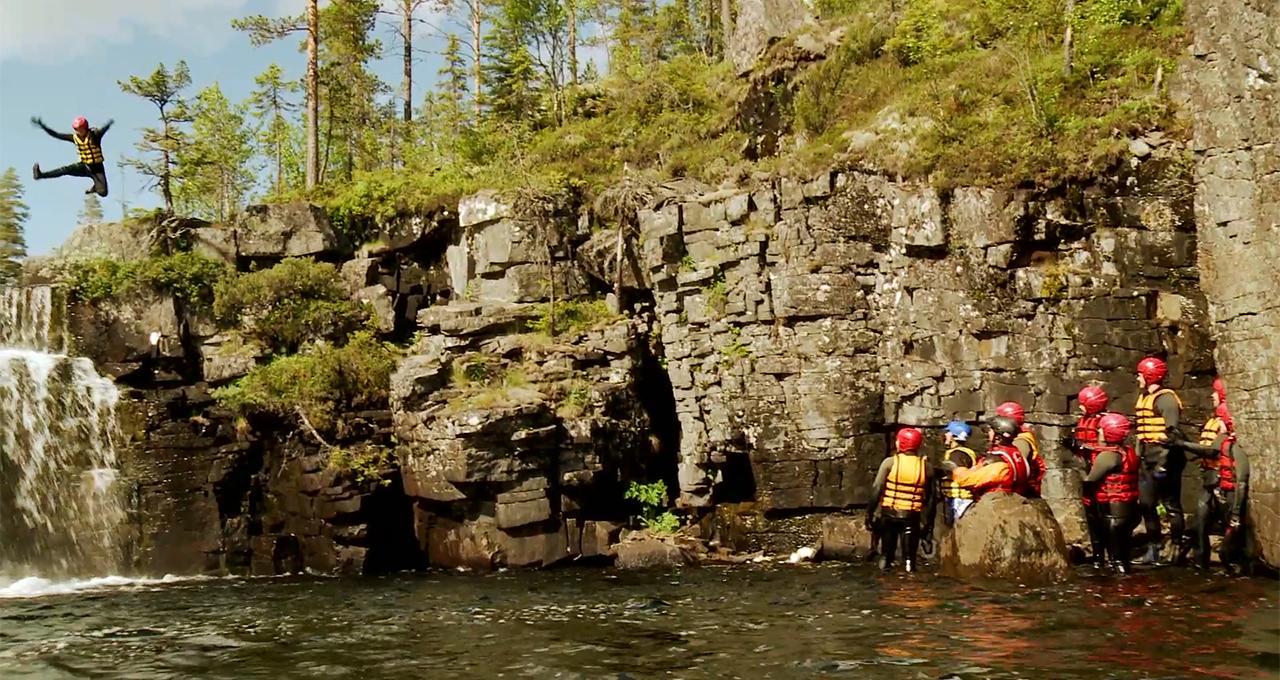 Canyoning i Trysil