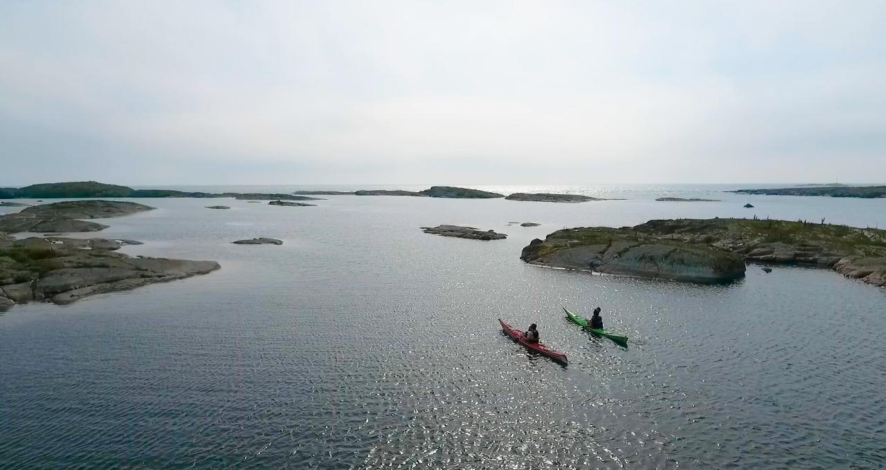 Havskajak på Åland