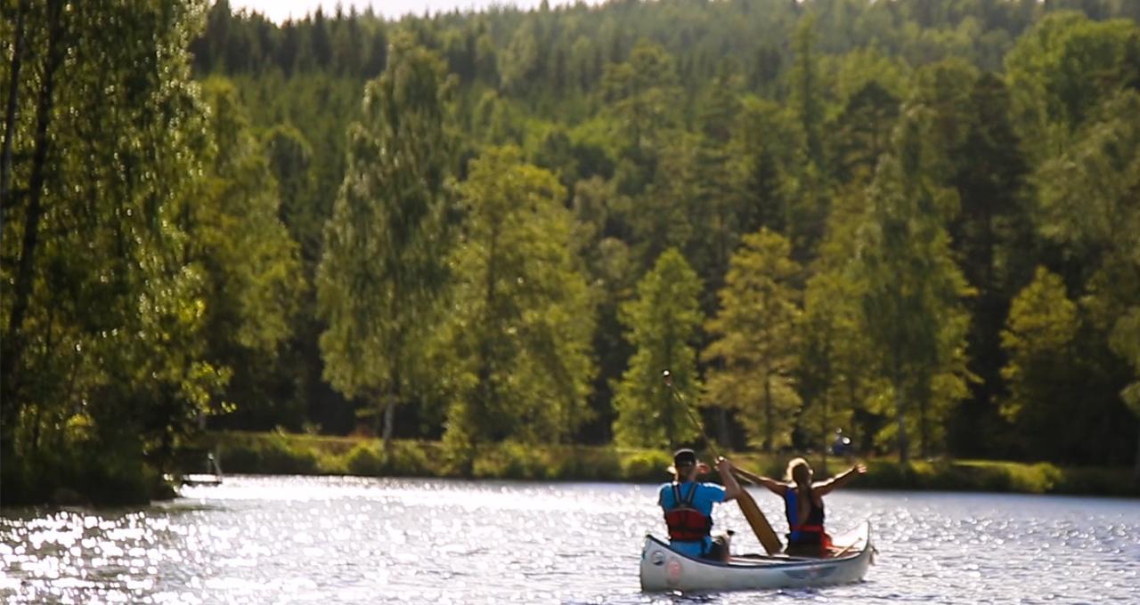 Paddla i Dalslands kanal