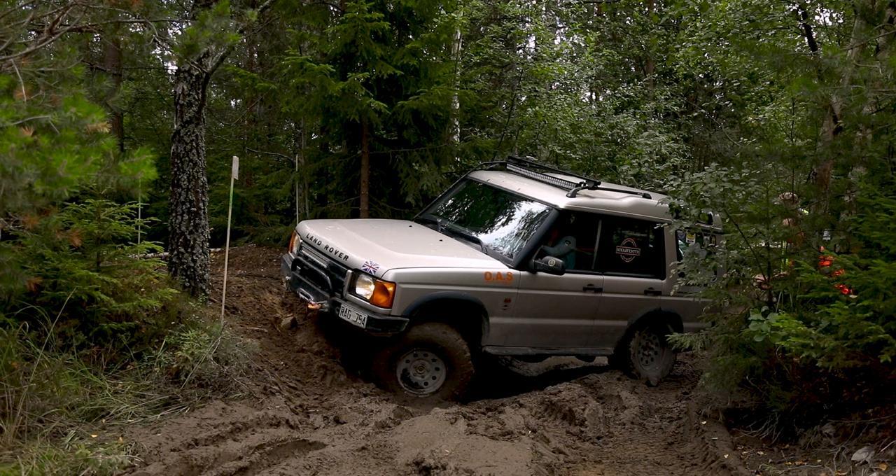 Trailkörning med Land Rover