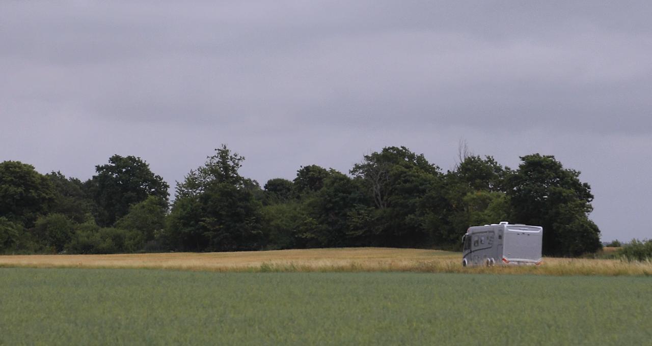 Vårt campingboende i Halland