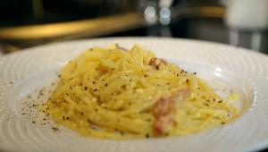 Tyskland Pasta Carbonara