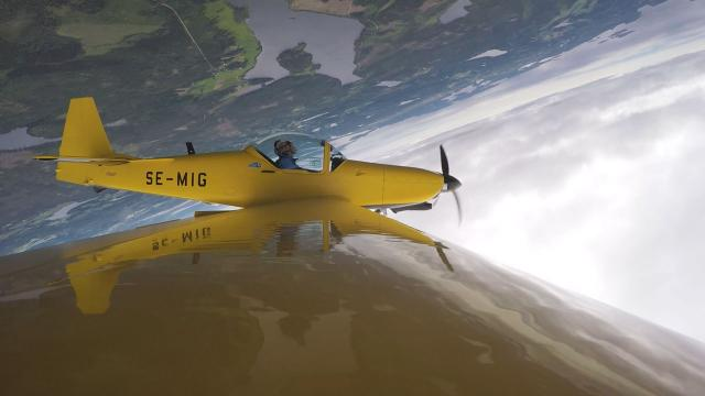 Flygning i Skellefteå